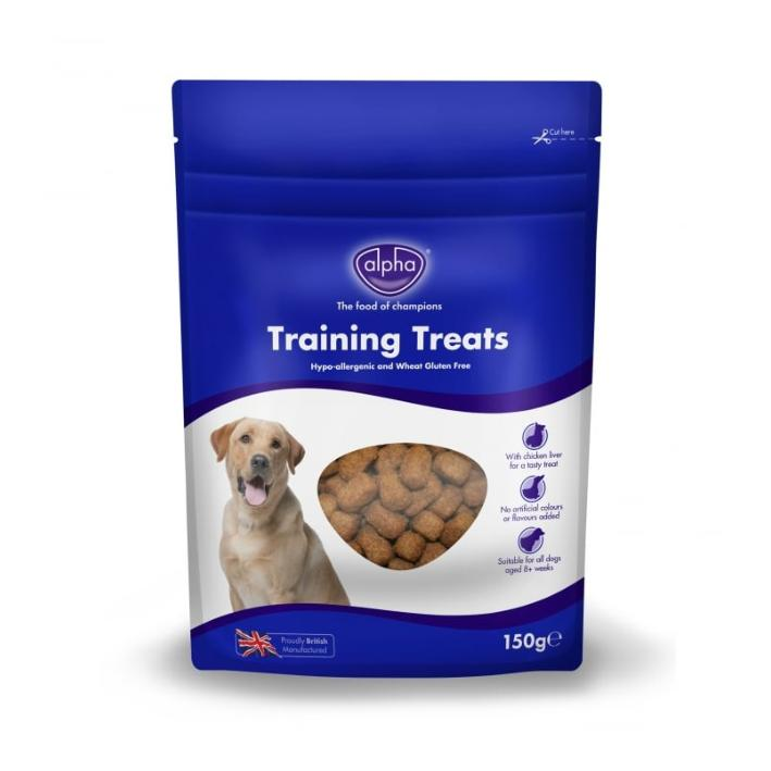 Alpha Training Treats with Liver 150gm