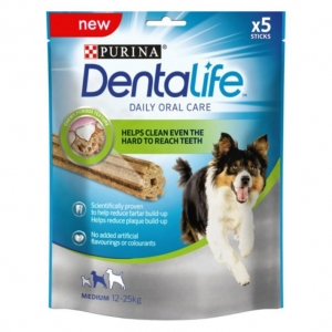 Purina Dentalife Sticks for Medium Dogs 5pcs