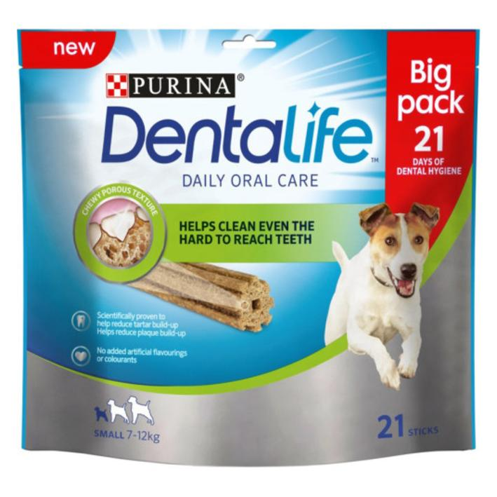 Purina Dentalife Sticks for Small Dogs 21pcs