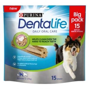 Purina Dentalife Sticks for Medium Dogs 15pcs