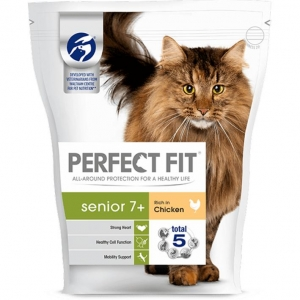 Perfect Fit Senior Cat Food with Chicken