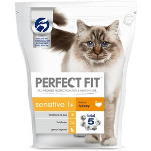 Perfect Fit Sensitive Cat Food with Turkey