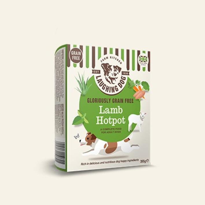 Laughing Dog Grain Free Lamb Hotpot 8 x 395gm