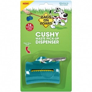 Bags on Board Cushy Poo Bag Dispenser Teal