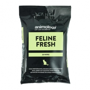 Animology Feline Fresh Wipes 20pcs