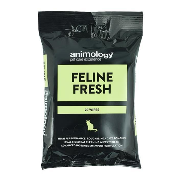 Animology Feline Fresh Wipes 20pcs