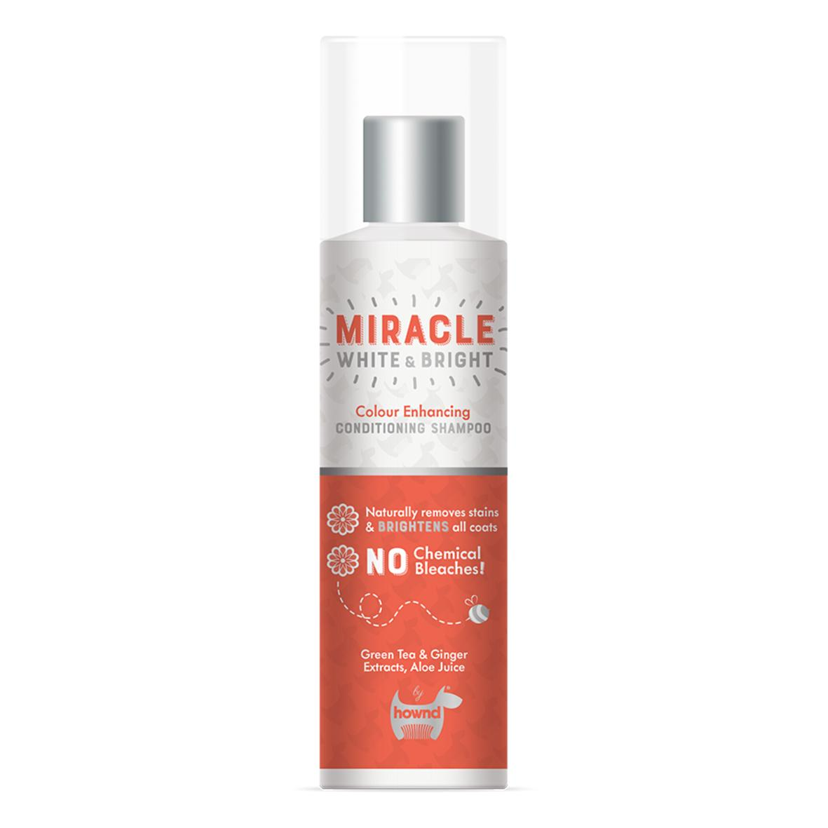 Hownd Miracle White and Bright Colour Enhancing Conditioning Shampoo 250ml