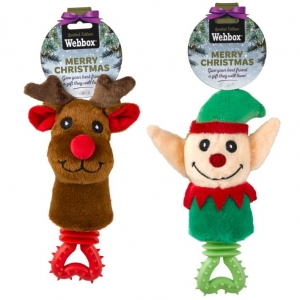 Webbox Festive Teether and Rattle