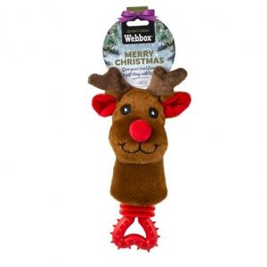 Webbox Festive Teether Reindeer