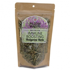 Pillow Wad Immune Boosting Hedgerow Herbs 40gm