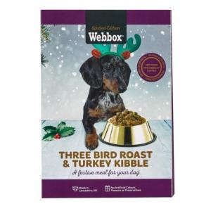 Webbox Festive Three Bird Roast and Turkey Kibble