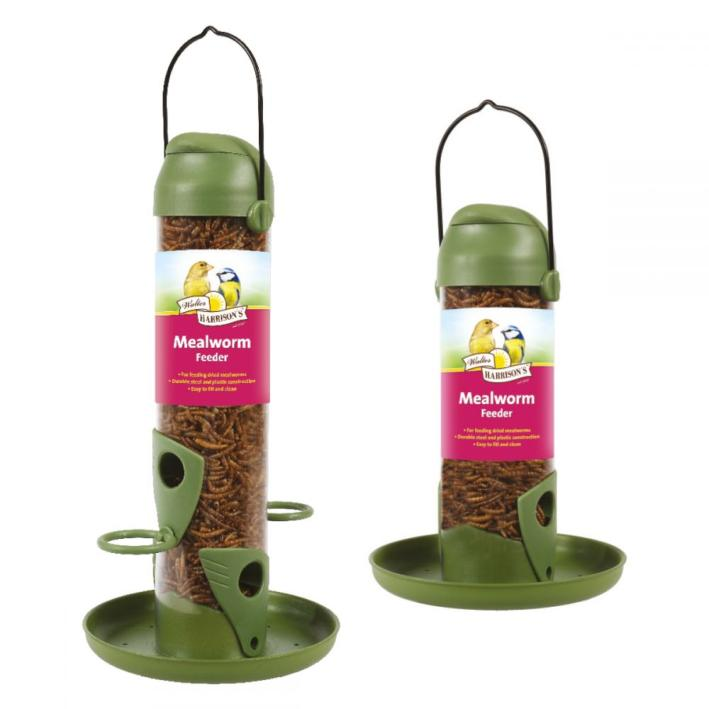 Walter Harrisons Flip Top Mealworm Feeder