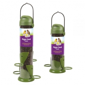 Walter Harrisons Flip Top Nyger Seed Feeder