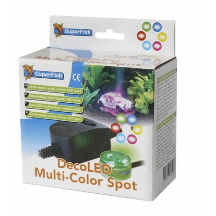 Superfish DecoLED Multi Colour Spot Light