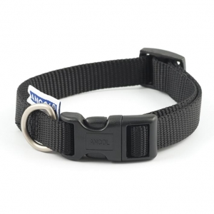 Ancol Heritage Adjustable Nylon Collar Black
