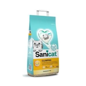 Sanicat Clumping Litter Fragrance Free 10L