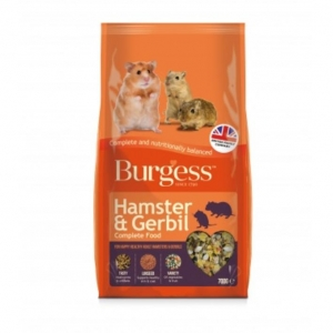 Burgess Hamster and Gerbil Food 700gm