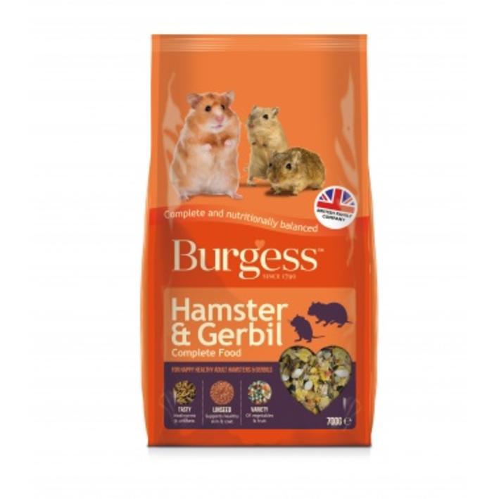 Burgess Hamster and Gerbil Food 700gm