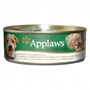 Applaws Tins Chicken Breast with Lamb in Jelly for Dogs 12 x 156gm