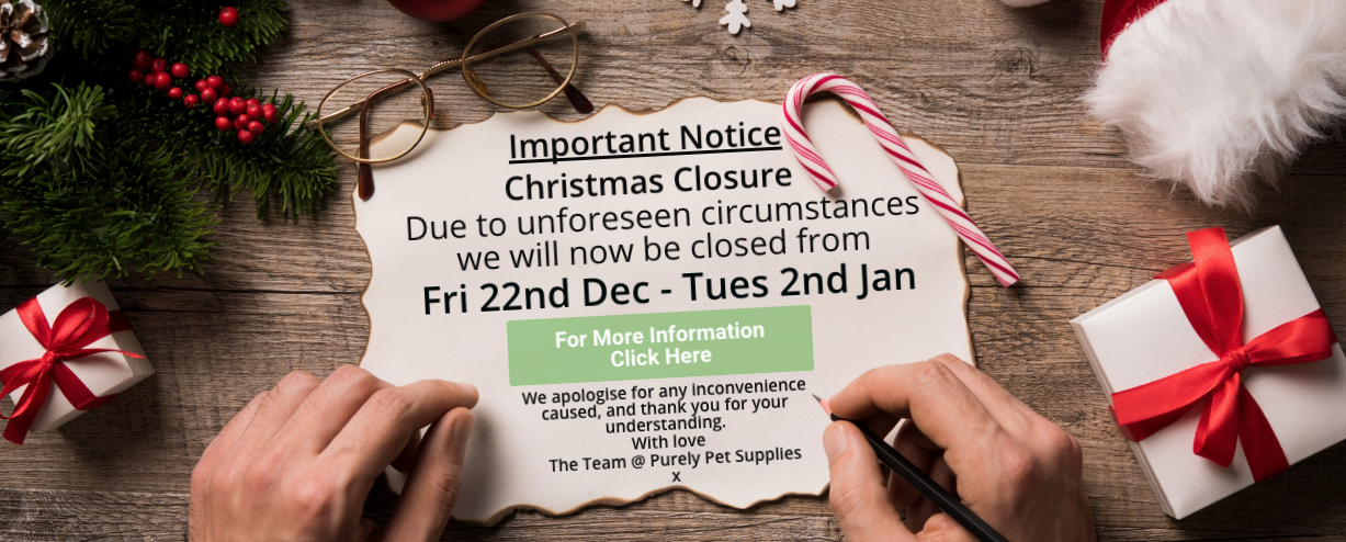 Christmas Closures – We're so sorry!