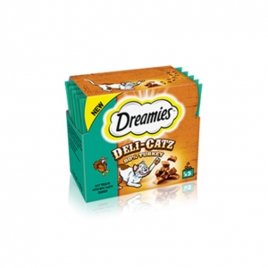 Dreamies Deli Catz Turkey