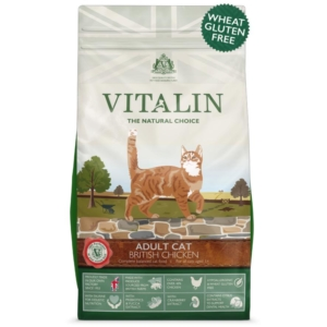 Vitalin Cat Food with British Chicken 1.5kg