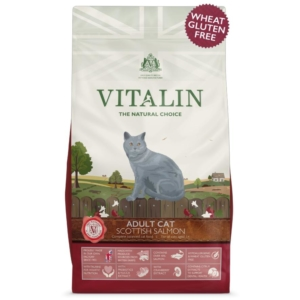 Vitalin Cat Food with Scottish Salmon