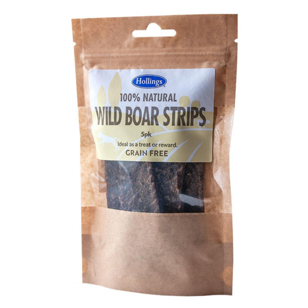Hollings Wild Boar Strips 5pcs