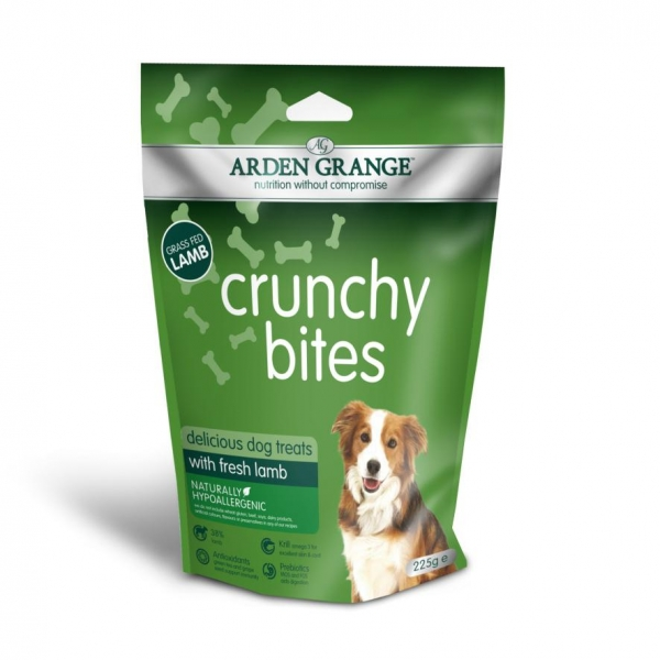 Arden Grange Crunchy Bites with Lamb 225gm