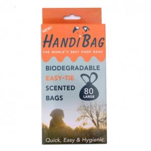 HandiBag Biodegradable Poo Bags 80pcs