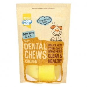 Good Boy Pawsley and Co Daily Dental Chews Chicken