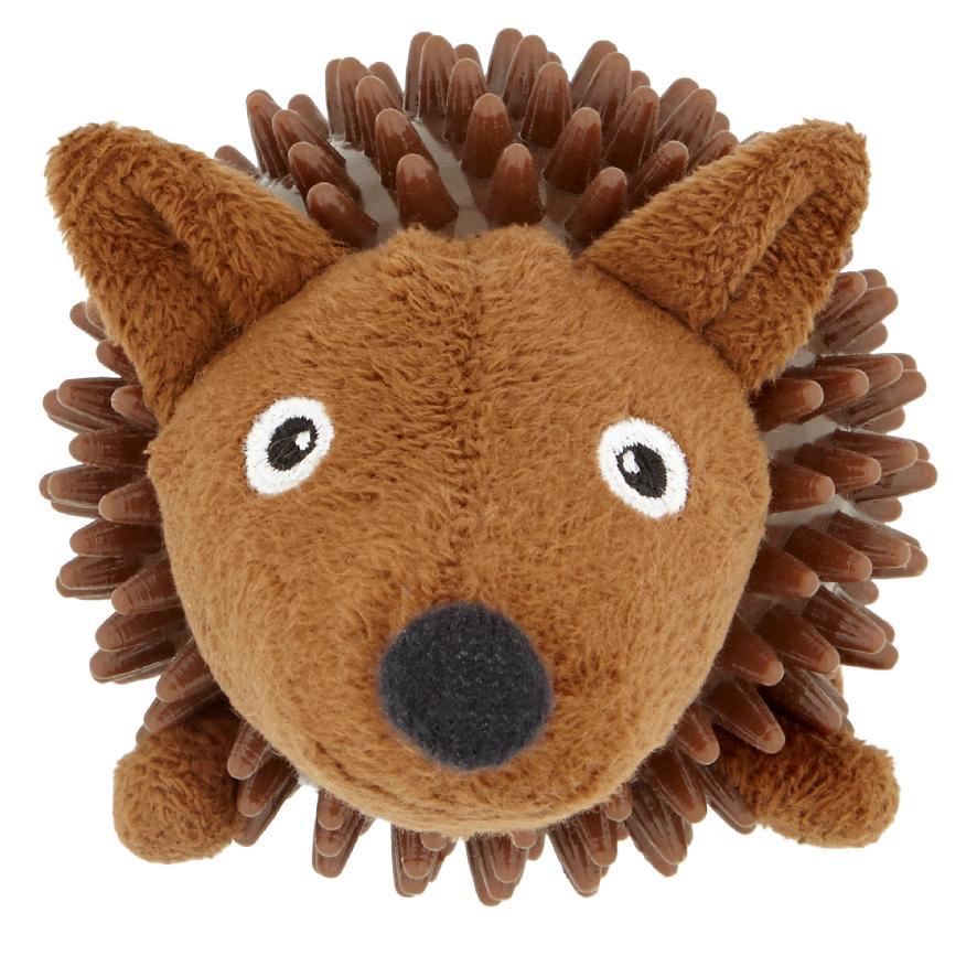 Good Boy Bobble Ball Hedgehog 13cm