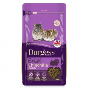 Burgess Excel Chinchilla Nuggets 2kg