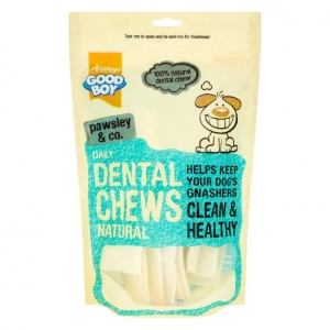 Good Boy Pawsley and Co Daily Dental Chews Natural