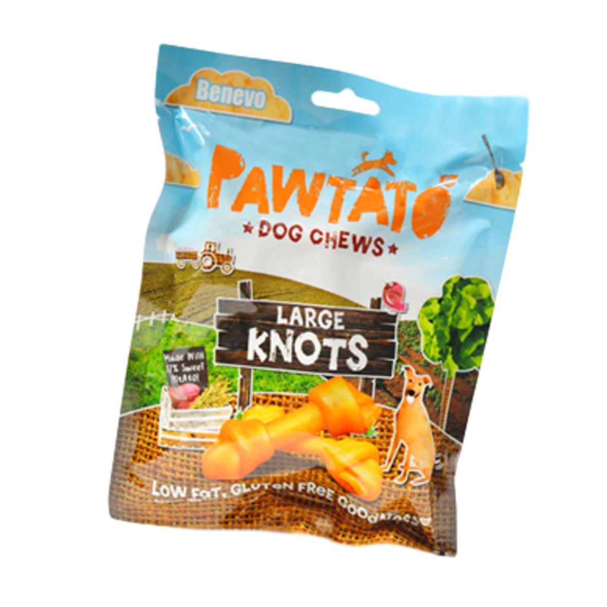 Pawtato Large Knots 180gm (Wheat Gluten Free)