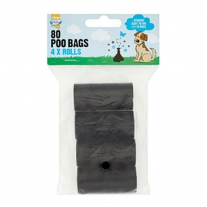 Good Boy Poo Bag Rolls 4 x 20pcs