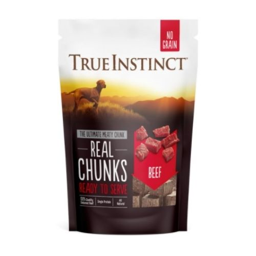 Natures Variety 100% Beef Freeze Dried Meat Chunks 200g OLD PACKAGING