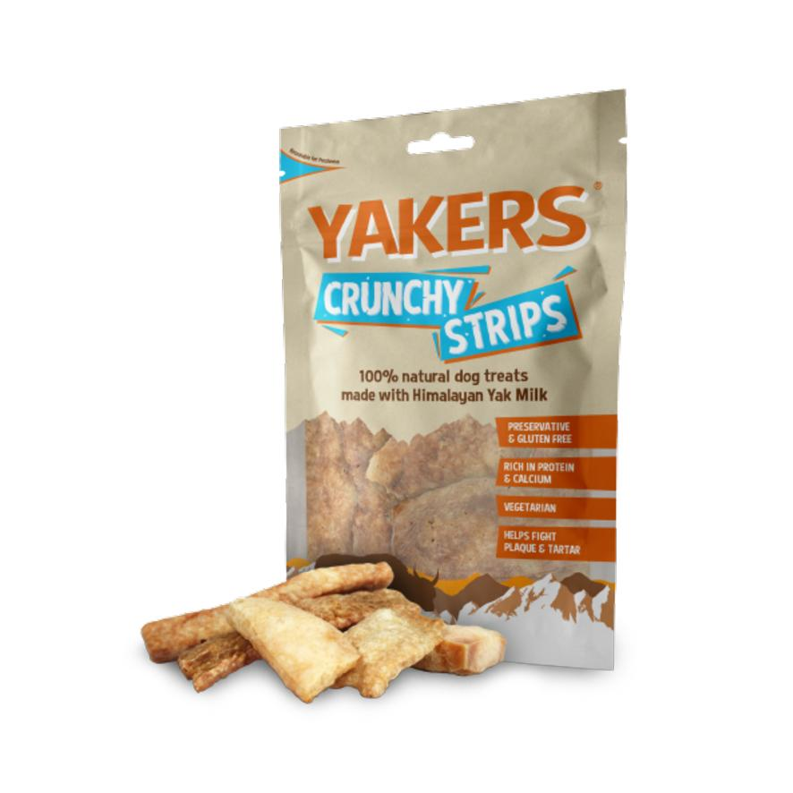Yakers Crunchy Strips 70gm
