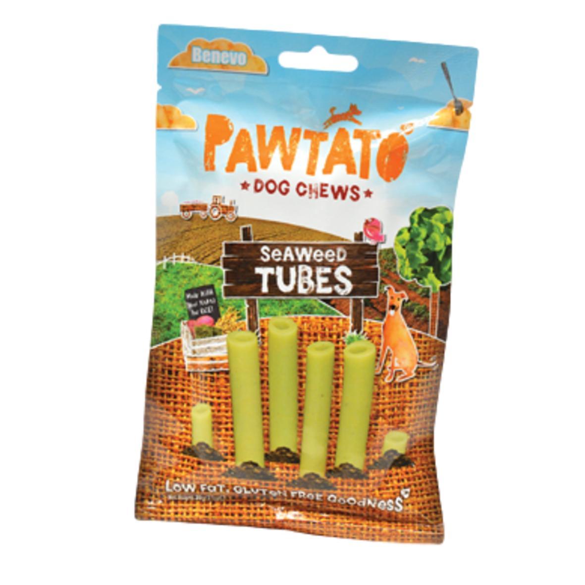 Pawtato Seaweed Tubes 90gm