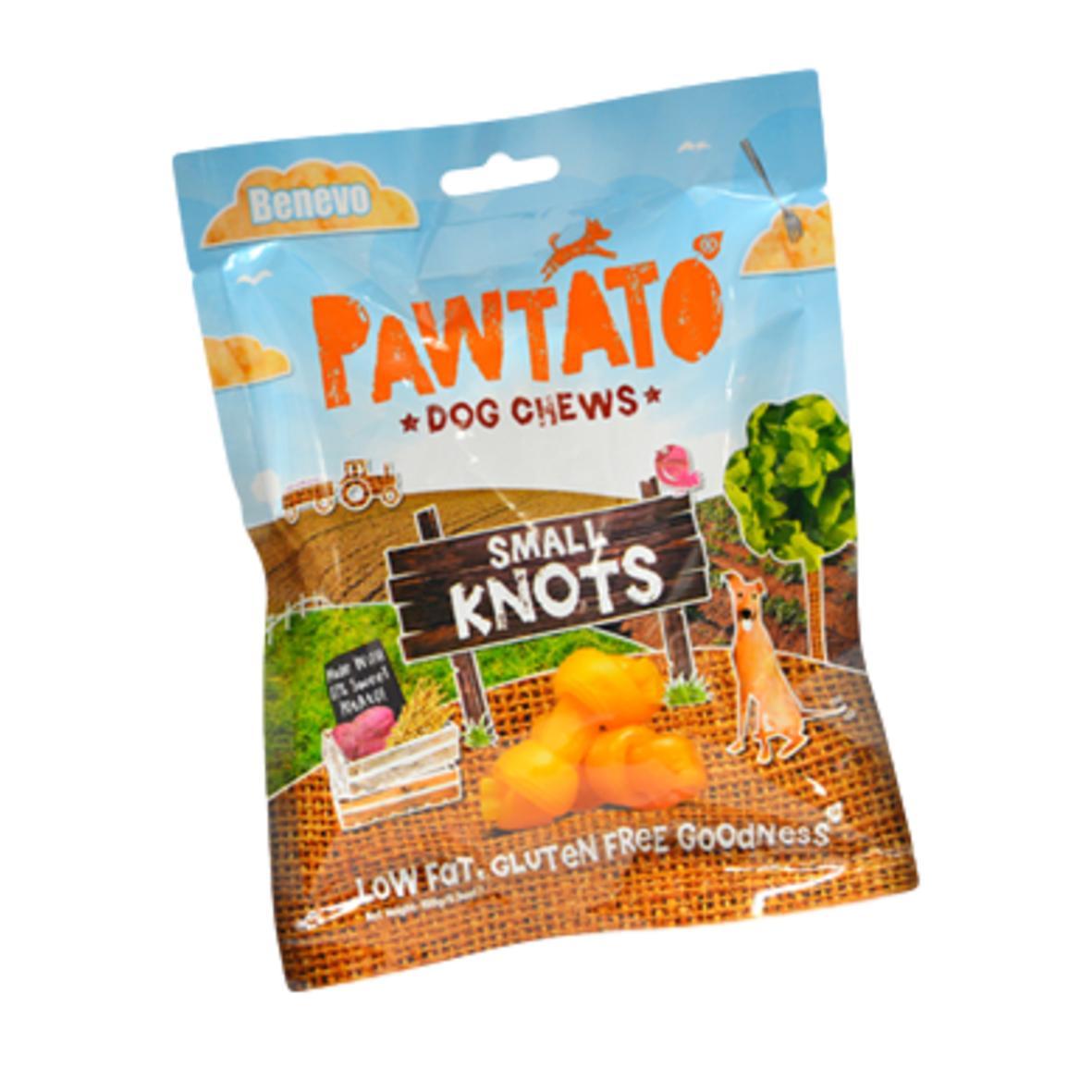 Pawtato Small Knots 150gm (Wheat Gluten Free)