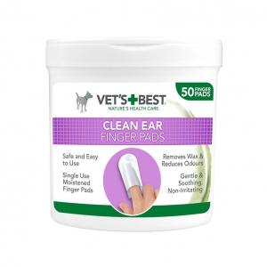 Vets Best Clean Ear Finger Pads