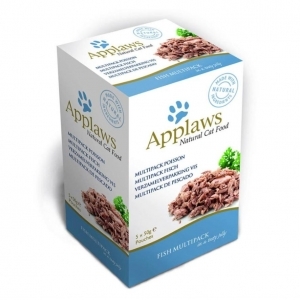 Applaws Fish Multipack Pouches in Jelly for Cats 5 x 50gm