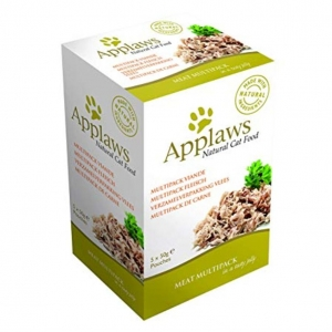 Applaws Meat Multipack Pouches in Jelly for Cats 5 x 50gm