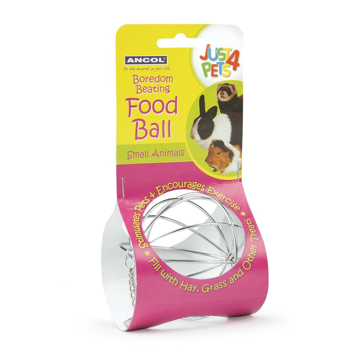 Ancol Just 4 Pets Food Ball 9cm