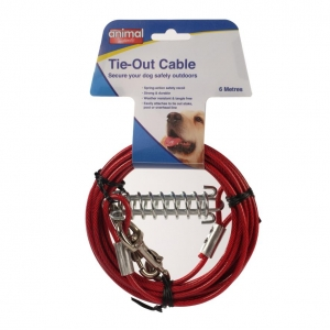 Animal Instincts Tie Out Cable