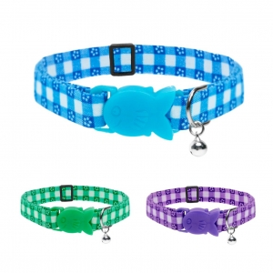 Cat Circus Gingham Collar