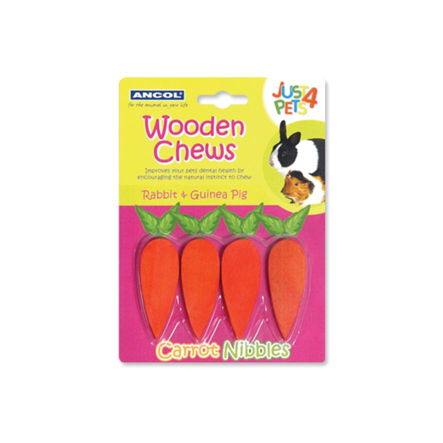 ANCOL Just 4 Pets Carrot Nibbles 4pcs 4cm