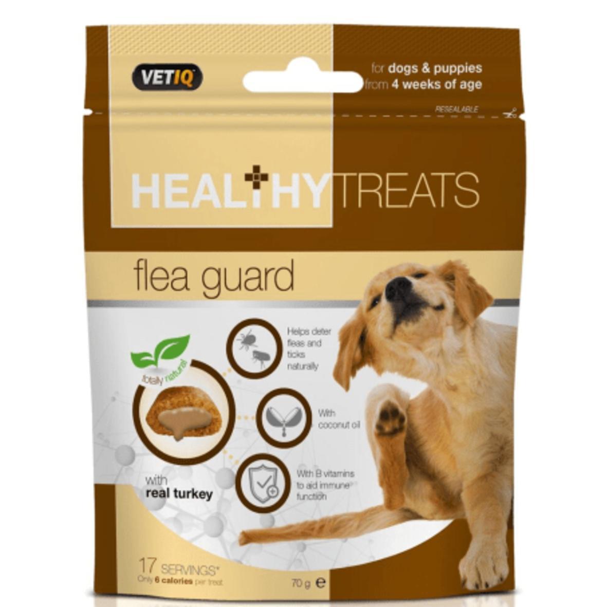 CLEARANCE VetIQ Healthy Treats Flea Guard 70gm