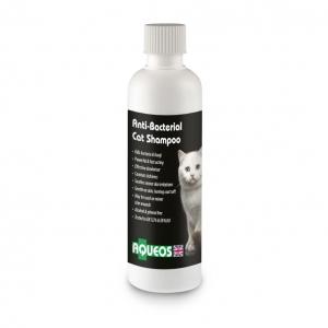 Aqueos Antibacterial Cat shampoo 200ml