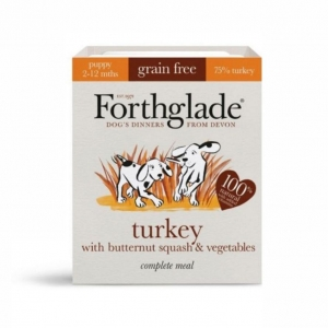 Forthglade Complete Puppy Turkey with Butternut Squash 395gm (Grain Free)(Two Sizes)